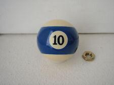 10 Ball Shift Knob Billiard Ball Threaded Gear Shifter Exact Custom Fit