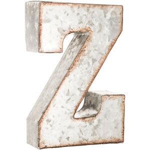"""Galvanized Metal Letters Alluring 7"""" Galvanized Metal Letters Table & Wall Letters Capital Letters Inspiration"""