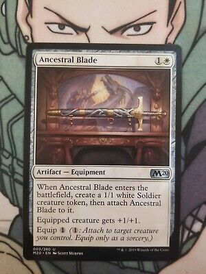 4x Ancestral Blade NEW MTG Core Set 2020
