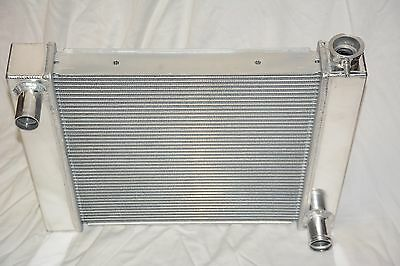 Universal Aluminum 25 x 19 Street Rod Dual Pass Core Radiator Chevy GM Outlets