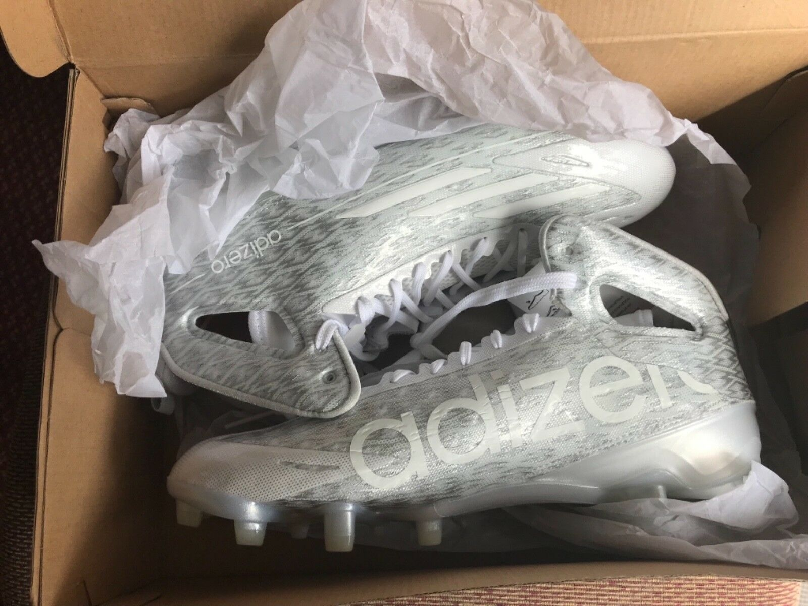 Adidas adizero 5-Star 4.0 4.0 4.0 Low Men's Football Cleats Style B54298 MSRP  125 -NEW 1a9078