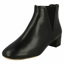 96a1800f44c item 6 Ladies Clarks Orabella Ruby Black Leather Or Suede Smart Ankle Boots D  Fitting -Ladies Clarks Orabella Ruby Black Leather Or Suede Smart Ankle  Boots ...
