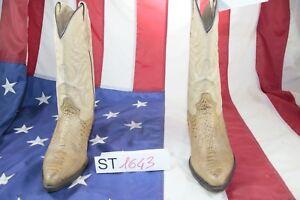 Marron Bottes st1643 Rudel Cow cod Vintage Femme d'occassion Cuir boy N Country x6r16UYn