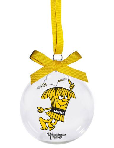 Licensed Wichita State Shocker Vintage Collection Wu Christmas ornament