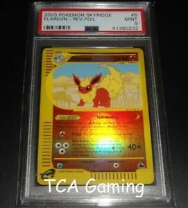 PSA-9-MINT-Flareon-8-144-Skyridge-REVERSE-HOLO-Pokemon-Card