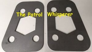 2-x-Gearbox-Gear-Box-Transmission-Spacers-Nissan-GQ-GU-Patrol-Ford-Maverick-SWB