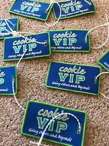 Vintage-LIttle-Brownie-Cookie-VIP-Backpack-Bag-Tag-Girl-Scouts