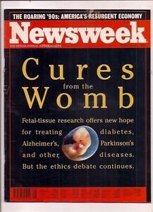 NEWSWEEK-magazine-feb-22-1993-CURES-FROM-THE-WOMB