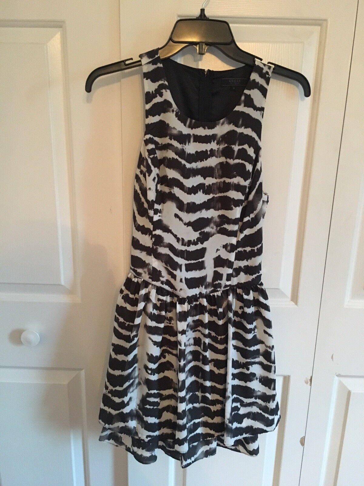 c215a46fd0 GUESS Dye Sleeveless Dress Abstract Tiered npadua25614-Dresses