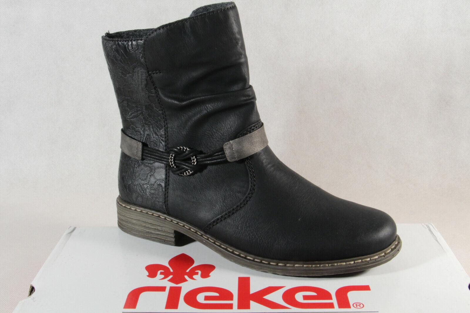 Stiefel RIEKER Z9591 00 Schwarz Stiefel Stiefel und