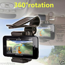 Car Rearview Mirror Mount Holder Stand Cradle For Cell Phone GPS 55 - 90mm Width