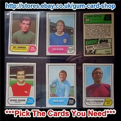 A/&BC 1964 FOOTBALL QUIZ 1ST SERIES *PICK THE CARDS YOU NEED* FAIR