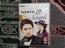 NORTH & SOUTH - REGION 2 DVD 2 DISC SET - BBC - RICHARD ARMITAGE PAULINE QUIRKE