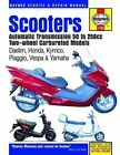 Haynes Service and Repair Manual Scooters Automatic Transmission 50 to 250cc TW