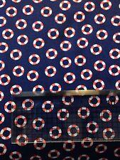 Michael Miller Little Lifesavers Fabric cotton material fat quarter nautical sea