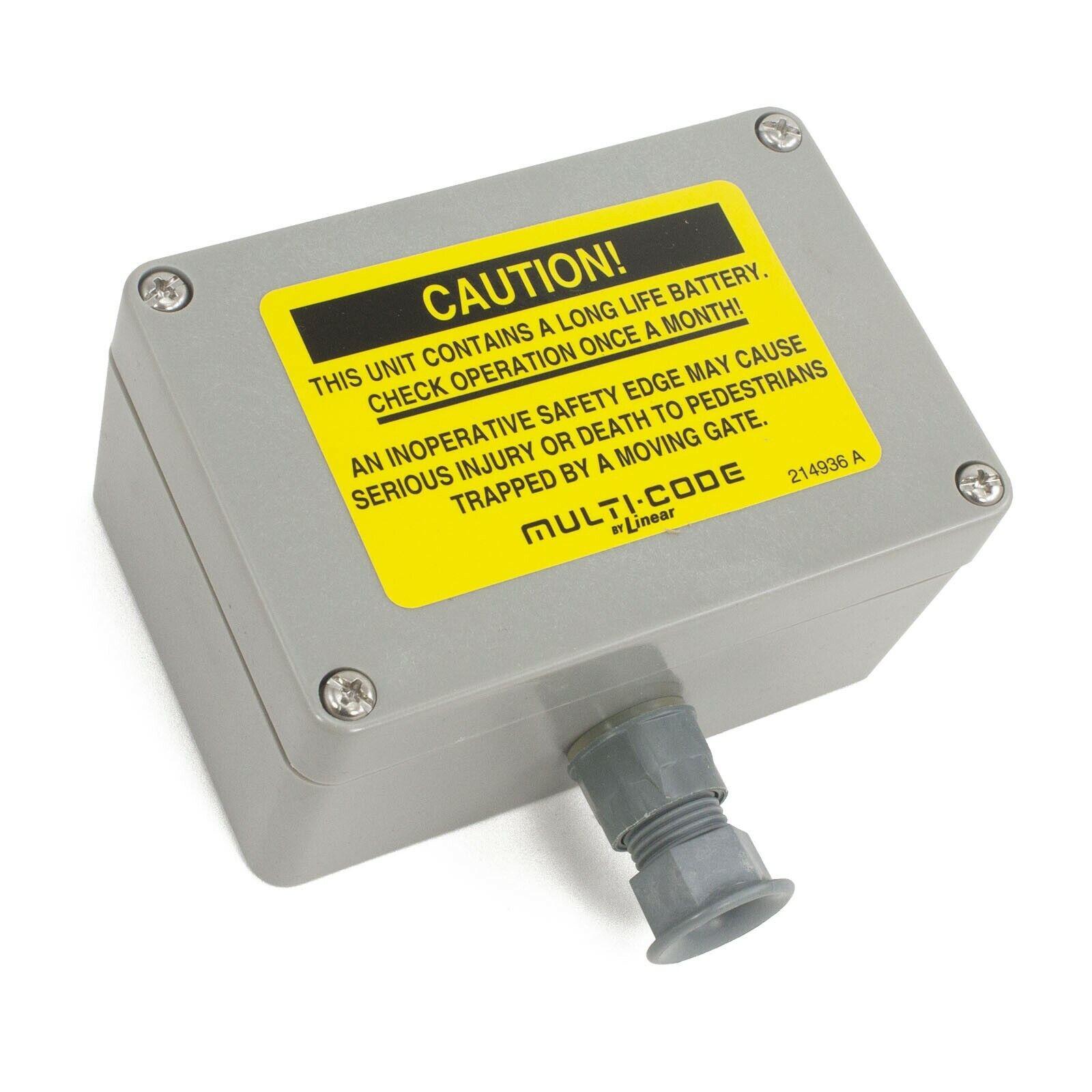 Linear Multi-Code Safety Edge Transmitter 302210 Garage Door Opener MCS302210