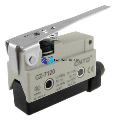 Long Hinge Lever 3 Terminal Actuator Micro Limit Switch RV-163-1C25