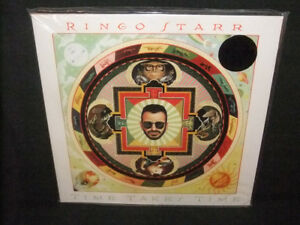 Ringo-Starr-Time-Takes-Time-Jeff-Lynne-ELO-Sealed-New-180g-Red-Colored-Vinyl-LP