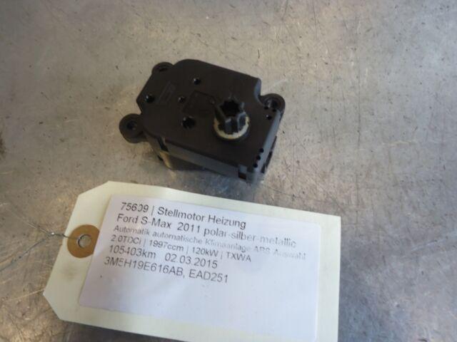 chauffage du servomoteur Ford S-Max 3M5H19E616AB 2.0TDCi 120kW TXWA 75609