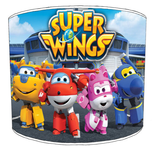 Super Wings Lampshades Ideal To Match Super Wings Bedding Sets /& Duvet Covers.