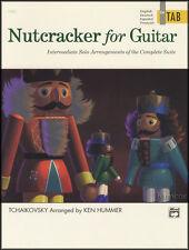 Nutcracker per chitarra classica in scheda Spartiti Musicali LIBRO Assolo intermedi