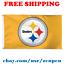 Deluxe-Pittsburgh-Steelers-Team-Logo-Flag-Banner-3x5-ft-NFL-Football-2019-NEW thumbnail 1
