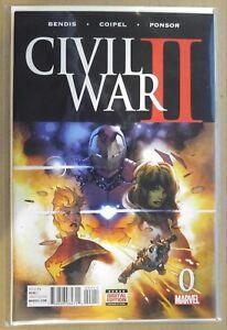 Civil-War-II-0-AVENGERS-IRON-MAN-THANOS-CAPTAIN-MARVEL-INFINITY-WAR-NM