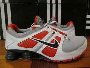 eaa211f32cb8 NEW Nike Shox Turbo 11 + White Orange Navy Grey 13 407266 010 si nz ...