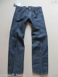 Levi-039-s-001-Engineered-Jeans-Hose-W-38-L-34-NEU-Dark-Indigo-Denim-Robust