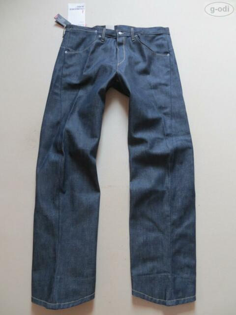 Levi's 001 Engineered Jeans Hose, W 38 /L 34, NEU ! Dark Indigo Denim, Robust !