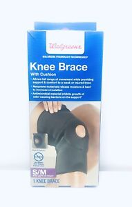 Walgreens Knee Brace With Cushion Fits Left Or Right S M 49022756878 Ebay