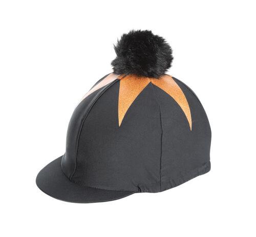 Shires Pom Pom Riding Hat Skull Cover Silk Big Star 2018-4 Colours 836