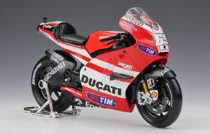 Maisto-1-10-2011-Ducati-Desmosedici-MotoGP-Nicky-Hayden-Motorcycle-Bike-Model-69