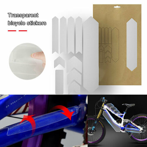For Mountain Bike Bicycle Frame Guard Protective Film Anti-scratch Decal Sticker