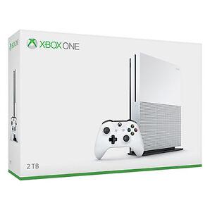 Microsoft Xbox One S (Latest Model)- 2 TB White Console