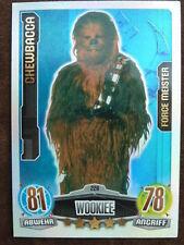 Force Attax Star Wars 1 (2012, blau), Chewbacca (228) Force Meister