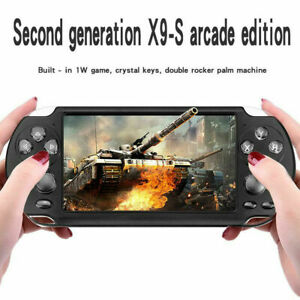"""5.1"""" 8GB 128Bit Retro Portable Handheld Game Console Player 10000 Games Built-In"""