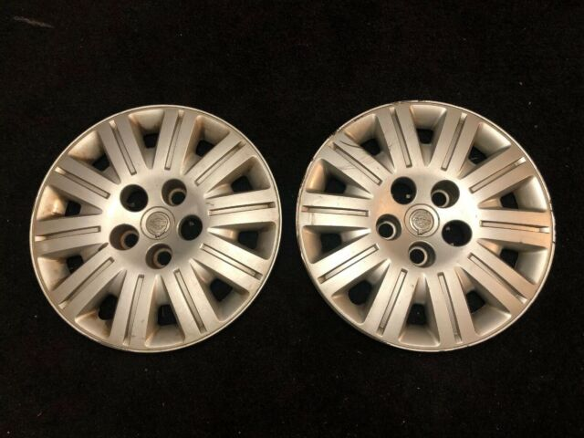 """(2) 2005 2006 2007 Chrysler Town And Country OEM 16"""" Inch Wheel Cover Hubcap Oem"""