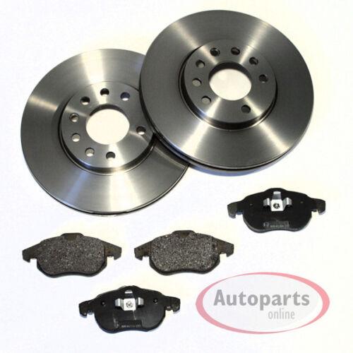 Bremsscheiben Bremsen Bremsbeläge Bremsklötze für vorne hinten Saab 9-3