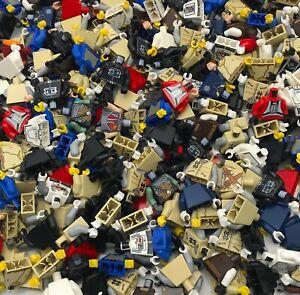 LEGO LOT OF 5 RANDOM STAR WARS MINIFIGURES JEDI SITH CLONES PILOTS MYSTERY BAG!