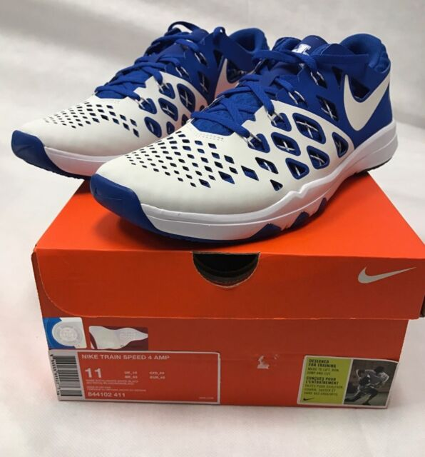 5c2f1e819a9f Nike Train Speed 4 Amp Kentucky Wildcats Shoes UK Sizes 8.5-13 Blue ...