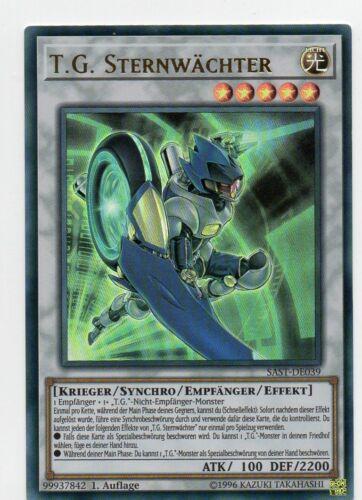 SAST-DE039 Yu Gi Oh T.G Auflage Sternwächter UR Savage Strike 1