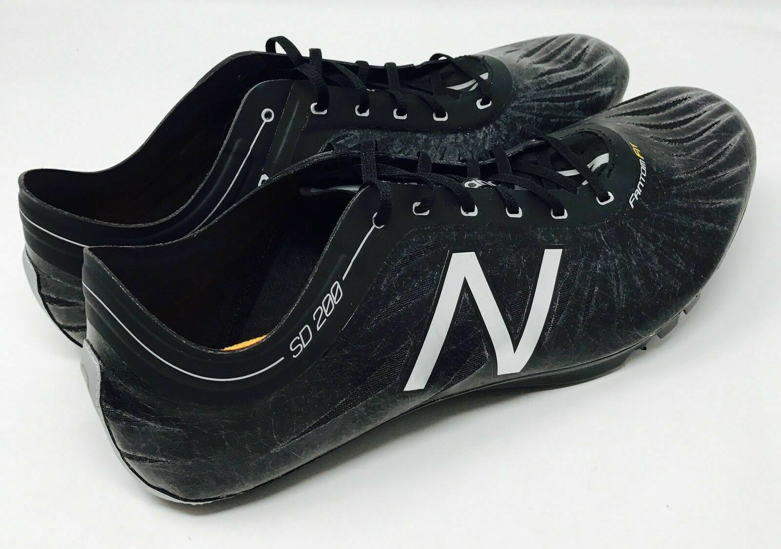 Size 12 New Balance Mens Track and Field Spikes Running shoes Black SD 200