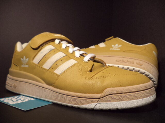 2003 Adidas FORUM Low MB CAMEL CURRY BROWN SHELL WHITE Lo 147015 Sz 13