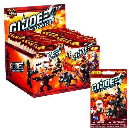 G.i. Joe Micro Fuerza Ciega Bolsas Mini Figuras Serie 1 caso por Hasbro