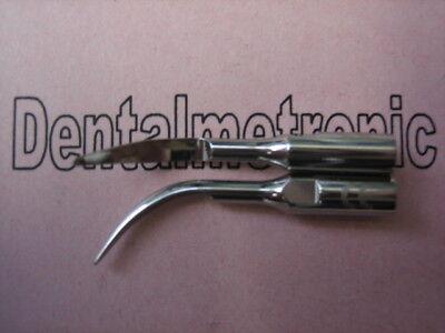 2x Zeg Spitze Tip Für Satelec Scaler Handstück Ultraschall Handpiece Ce 0197
