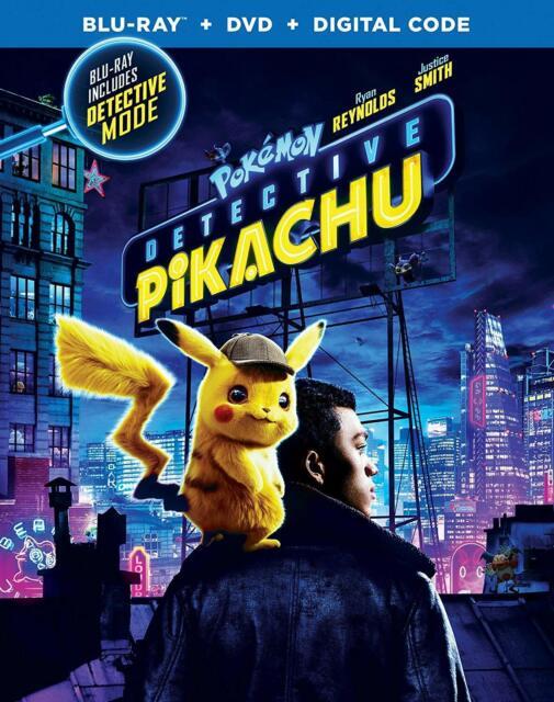 Detective Pikachu (Bilingual) - Blu-ray + DVD (2019)