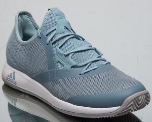 Complaciente emprender Rafflesia Arnoldi  adidas adizero Defiant Bounce Men's New Ash Grey White Tennis Shoes CG6348    eBay