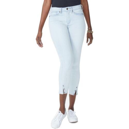 NYDJ Womens Ami Denim High Rise Ankle Skinny Jeans Plus BHFO 4190