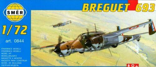 #844 1//72 Smer BREGUET Br 693 AB2 ARMEE DE L/'AIR//French AF MARKINGS